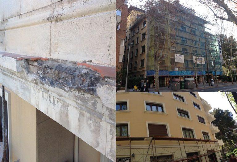 1 Restauración de fachadas Elementos ornamentales
