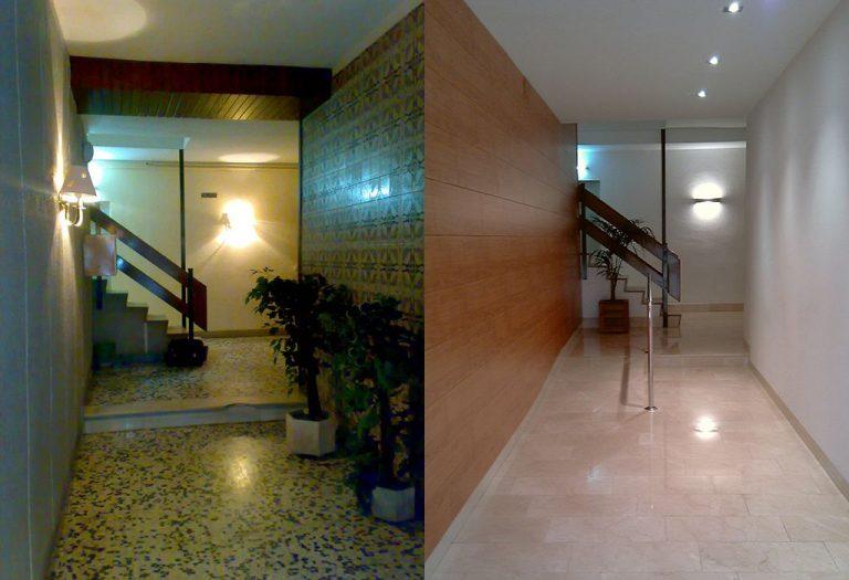 11 Reforma de vestíbulo y rampa de acceso normalizada