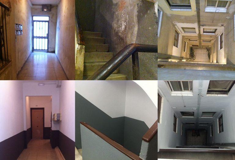 12 Reforma de portería Escalera Patio Elementos estructurales