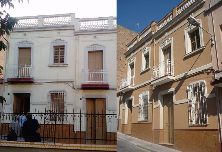 20 Restauración de fachada Elementos ornamentales