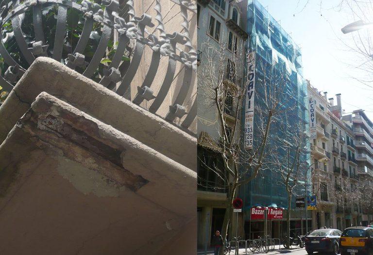 6 Restauración de fachada Elementos ornamentales