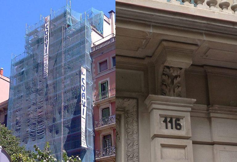 7 Restauración de fachada Elementos ornamentales