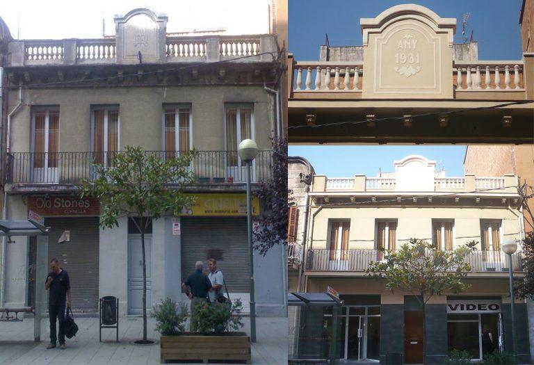 8 Restauración de fachada histórica Elementos ornamentales