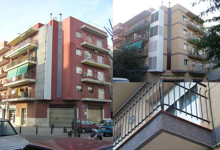 9 Rehabilitación fachadas mortero monocapa granito